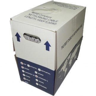 cable ethernet cat5 caja 305m gris